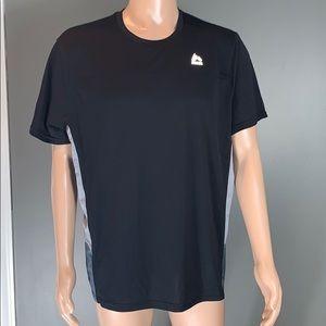 RBX Mens Black/Gray Performance T-shirt SZ.XL